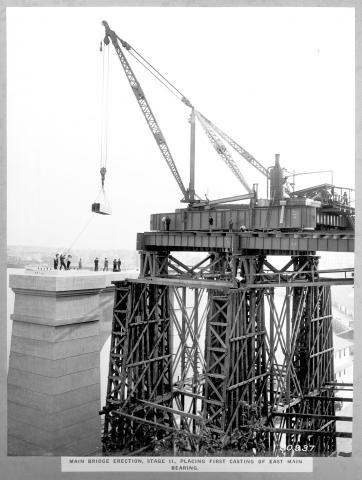 Construction of the Story Bridge