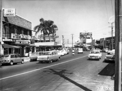 Gold Coast Highway from the 1960s