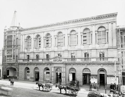 Front facade of the Old Brisbane Hall