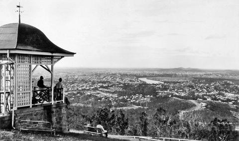 View from Mt Coot-tha lookout