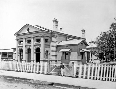 Court House, Mackay c1890