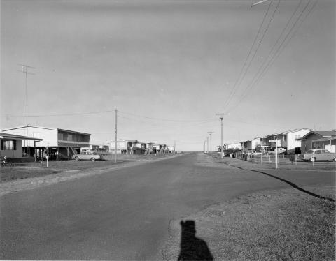 View of a wide open street space in Mackay