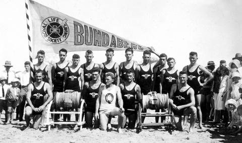 Bundaberg Surf Life Saving Club, c1931