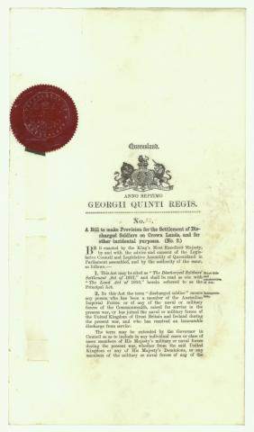 Acts of the Parliament of Queensland: VOL 51, 7 GEO