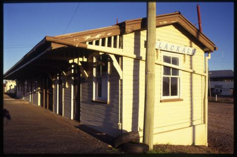 Railway Station, Blackall