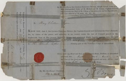 Certificate issued to Henry Challinor