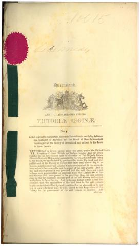 Queensland Coast Islands Act of 1879