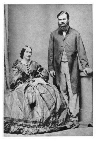 Portrait of William Landsborough and Mrs Landsborough