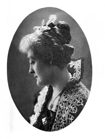 Portrait of the novelist Rosa Praed.