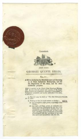 State Enterprises Act of 1918
