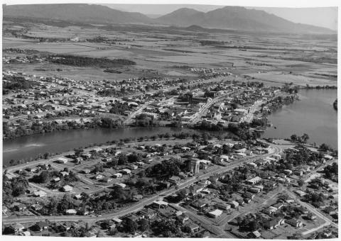 Aerial view of Innisfail