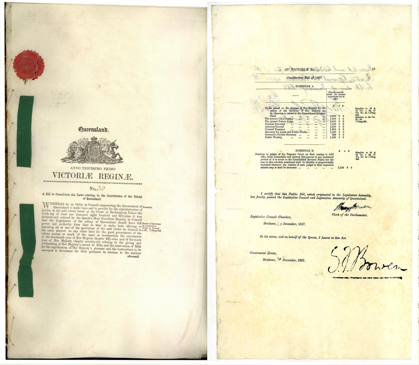 Constitution Act of 1867, (Top 150: #3)