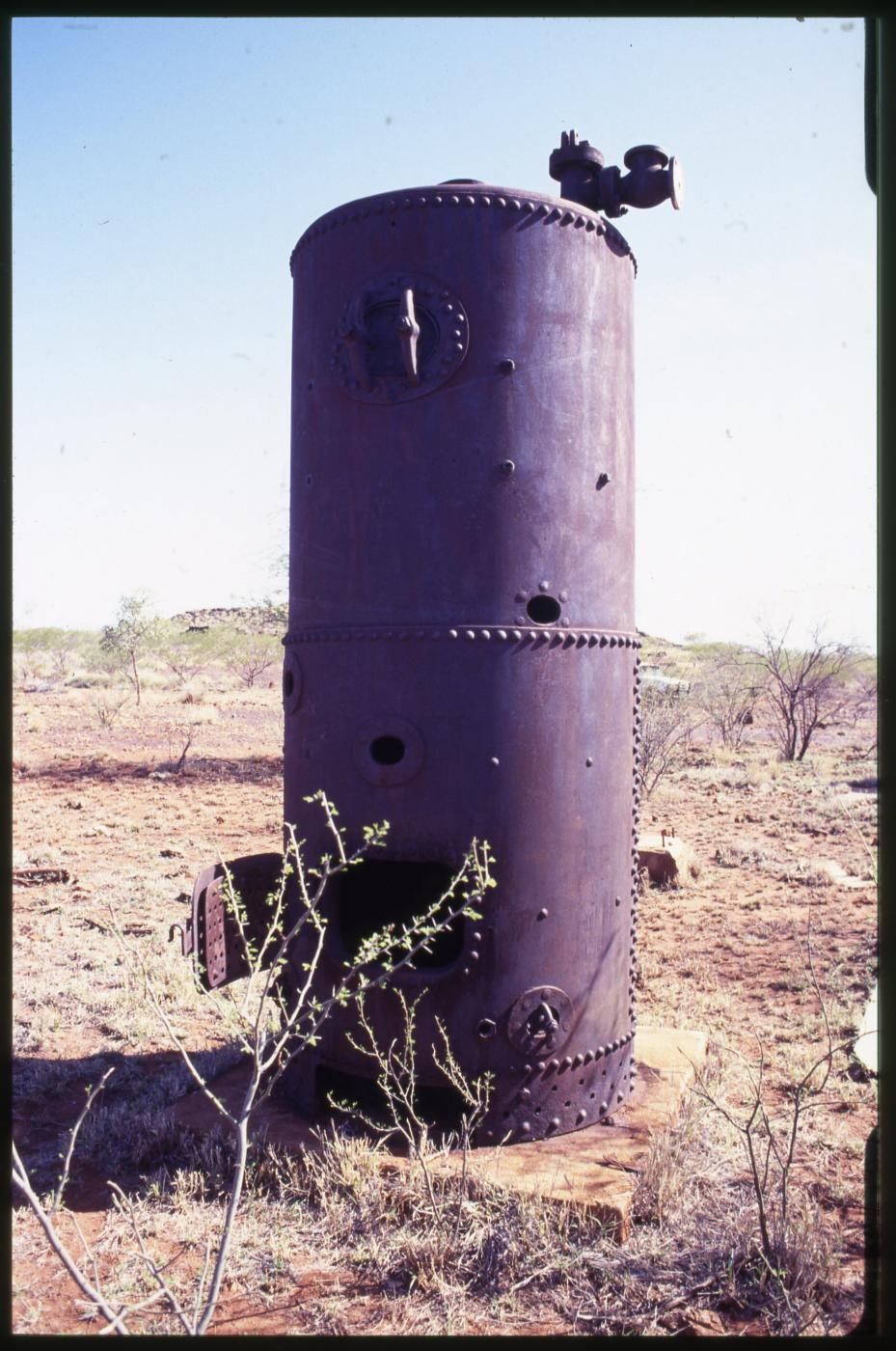 Metallurgical Plant, Cloncurry - machinery remnant