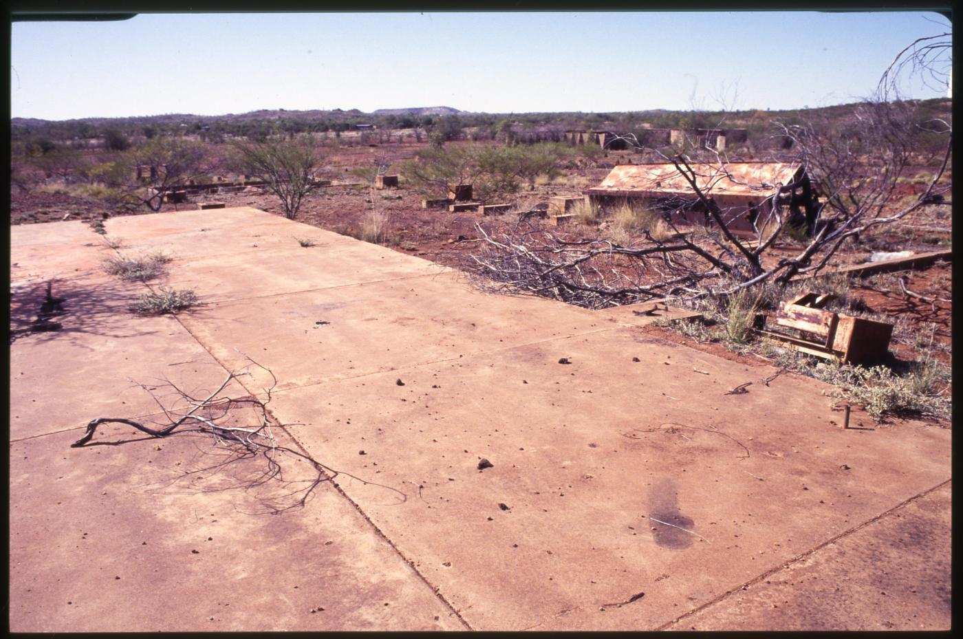 Metallurgical Plant, Cloncurry - site remnants