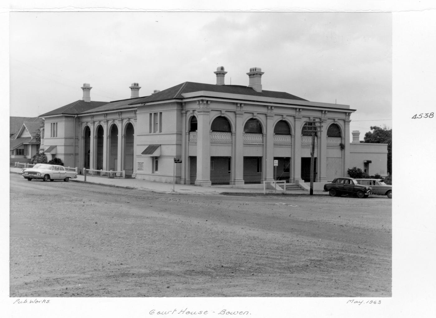 Court House, Bowen, May 1963