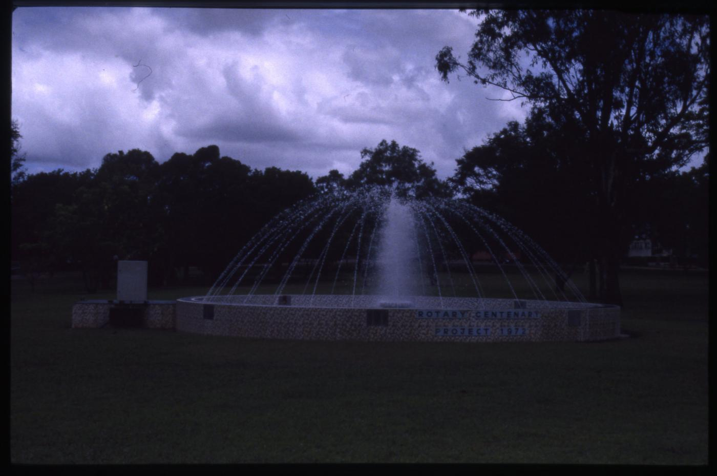 Charters Towers Centenary Fountain Lissner Park