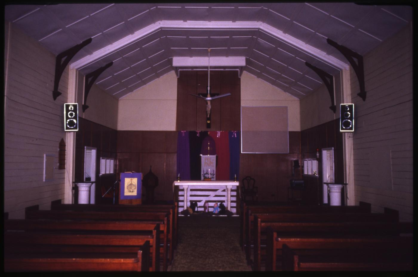 St Colman's Catholic Church - Interior and alter