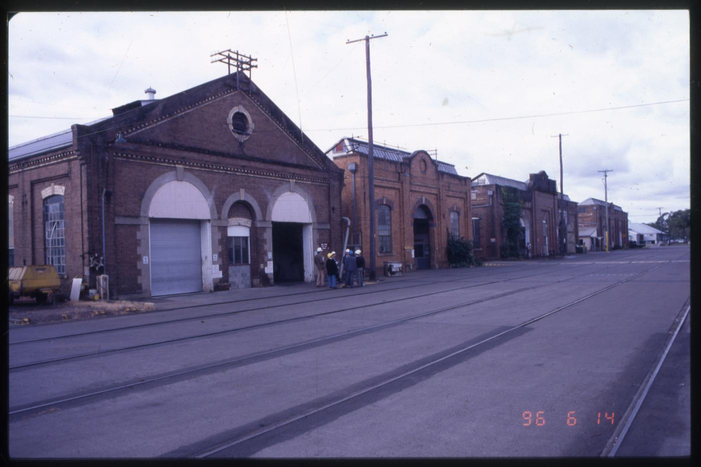 North Ipswich Railway Workshops Complex - Wagon and Store buildings