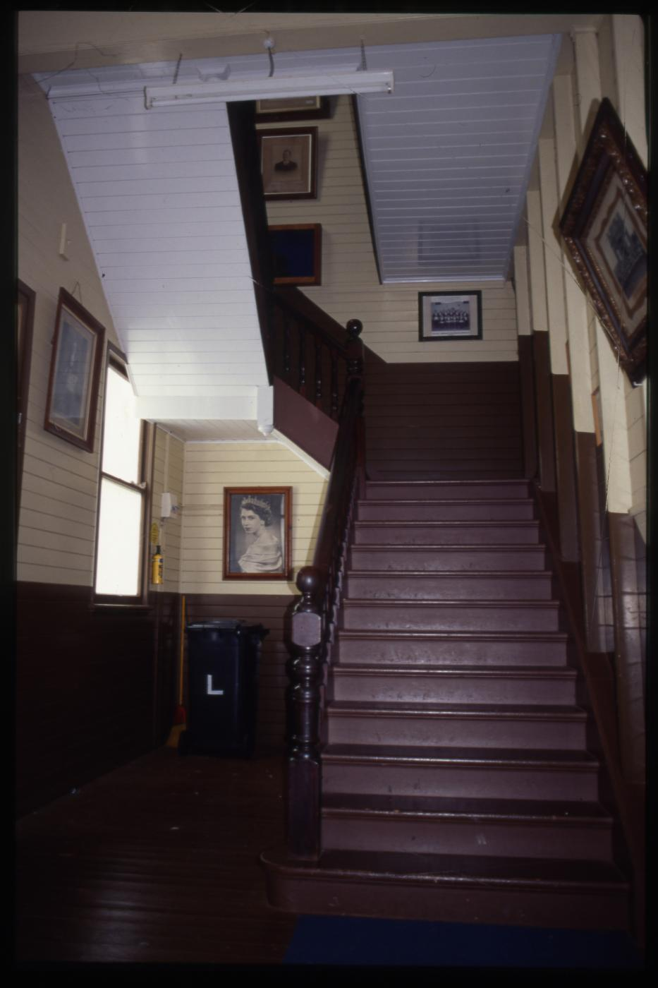 Childers Isis Masonic Lodge - Internal staircase