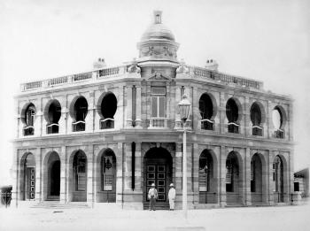 The grand Victorian-style post office of Warwick, Qld