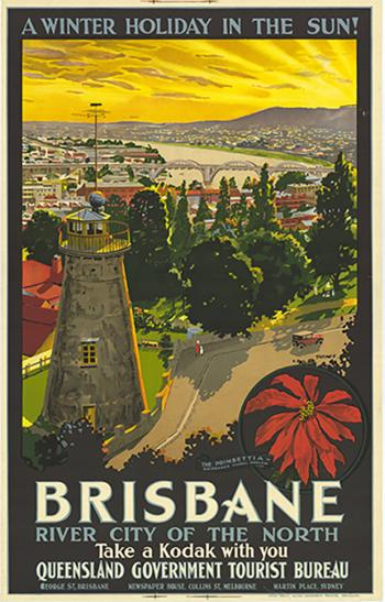 Poster of Brisbane's Old Windmill
