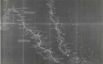 Ludwig Leichhardt Map, Moreton Bay to Port Essington (1844-1845), (Top 150: #8)