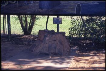 Astro Station Marker [Black Stump], Blackall