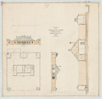 Plans of the Female Factory