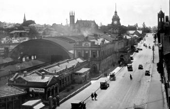 Central Railway Station , Ann Street, Brisbane, October 1926